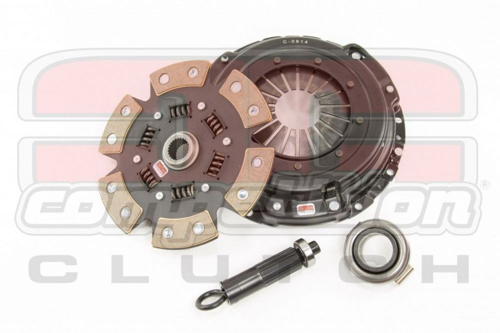 Mazda RX7 TurboII  FC3S  Stage 4  6 Pad Sprung Ceramic  Push Type Clutch Kit
